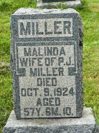 MILLER MILLER, MALINDA - Holmes County, Ohio | MALINDA MILLER MILLER - Ohio Gravestone Photos