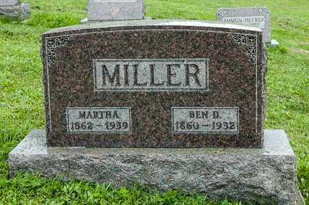MILLER, MARTHA - Holmes County, Ohio | MARTHA MILLER - Ohio Gravestone Photos