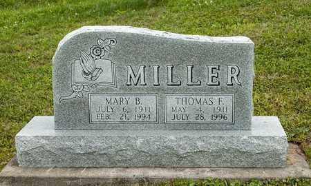 MILLER, MARY B. - Holmes County, Ohio | MARY B. MILLER - Ohio Gravestone Photos