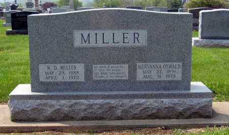 MILLER, MERVANNA - Holmes County, Ohio | MERVANNA MILLER - Ohio Gravestone Photos
