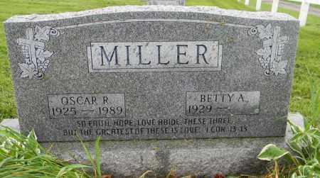 MILLER, OSCAR R - Holmes County, Ohio | OSCAR R MILLER - Ohio Gravestone Photos