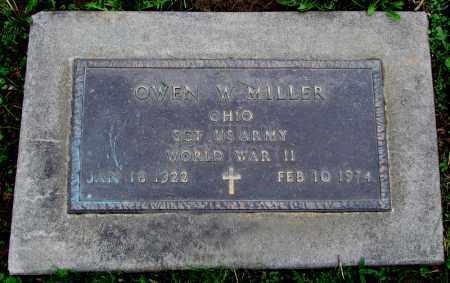 MILLER, OWEN W. - Holmes County, Ohio | OWEN W. MILLER - Ohio Gravestone Photos