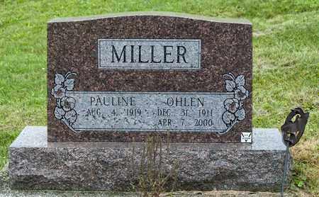 MILLER, OHLEN - Holmes County, Ohio | OHLEN MILLER - Ohio Gravestone Photos