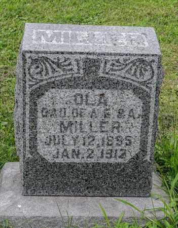 MILLER, OLA - Holmes County, Ohio   OLA MILLER - Ohio Gravestone Photos