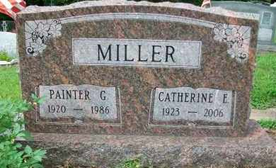 MILLER, CATHERINE E. - Holmes County, Ohio | CATHERINE E. MILLER - Ohio Gravestone Photos