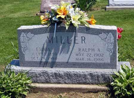 MILLER, EMMA - Holmes County, Ohio | EMMA MILLER - Ohio Gravestone Photos