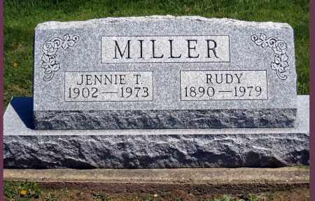 MILLER, JENNIE T - Holmes County, Ohio | JENNIE T MILLER - Ohio Gravestone Photos