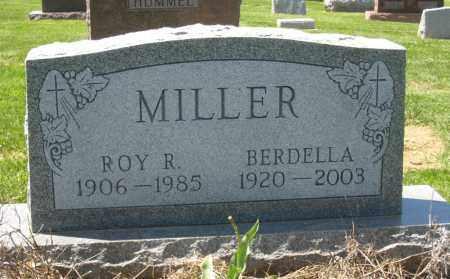 MILLER, BERDELLA - Holmes County, Ohio | BERDELLA MILLER - Ohio Gravestone Photos