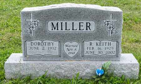 MILLER, R. KEITH - Holmes County, Ohio | R. KEITH MILLER - Ohio Gravestone Photos