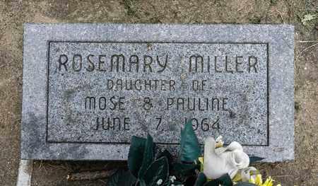 MILLER, ROSEMARY - Holmes County, Ohio | ROSEMARY MILLER - Ohio Gravestone Photos