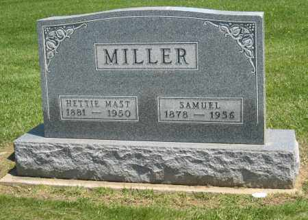 MILLER, NETTIE - Holmes County, Ohio | NETTIE MILLER - Ohio Gravestone Photos
