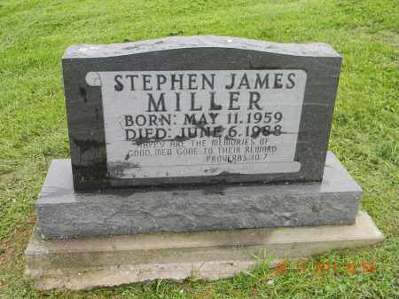 MILLER, STEPHEN JAMES - Holmes County, Ohio | STEPHEN JAMES MILLER - Ohio Gravestone Photos