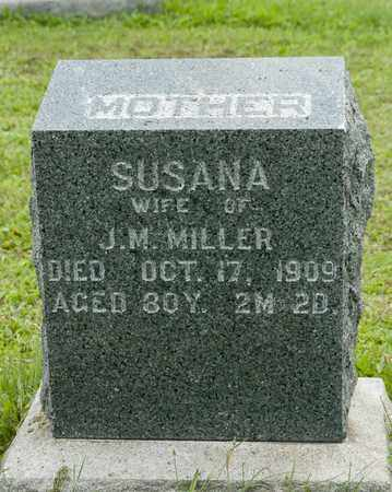 MILLER, SUSANA - Holmes County, Ohio | SUSANA MILLER - Ohio Gravestone Photos