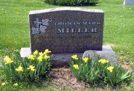 MILLER, THOMAS MARK - Holmes County, Ohio | THOMAS MARK MILLER - Ohio Gravestone Photos
