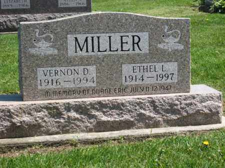 MILLER, ETHEL L. - Holmes County, Ohio | ETHEL L. MILLER - Ohio Gravestone Photos