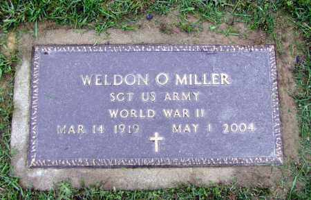MILLER, WELDON O - Holmes County, Ohio | WELDON O MILLER - Ohio Gravestone Photos