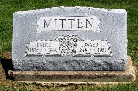 MITTEL, EDWARD E. - Holmes County, Ohio | EDWARD E. MITTEL - Ohio Gravestone Photos