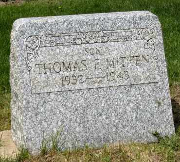 MITTEN, THOMAS F - Holmes County, Ohio | THOMAS F MITTEN - Ohio Gravestone Photos
