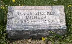 STOCKER MOHLER, BESSIE - Holmes County, Ohio | BESSIE STOCKER MOHLER - Ohio Gravestone Photos