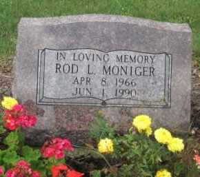 MONIGER, ROD L. - Holmes County, Ohio | ROD L. MONIGER - Ohio Gravestone Photos