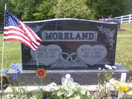 MORELAND, BETTY ELLEN - Holmes County, Ohio | BETTY ELLEN MORELAND - Ohio Gravestone Photos
