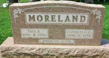MORELAND, PAUL B. - Holmes County, Ohio | PAUL B. MORELAND - Ohio Gravestone Photos
