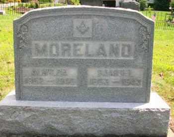 MORELAND, SAMUEL - Holmes County, Ohio | SAMUEL MORELAND - Ohio Gravestone Photos