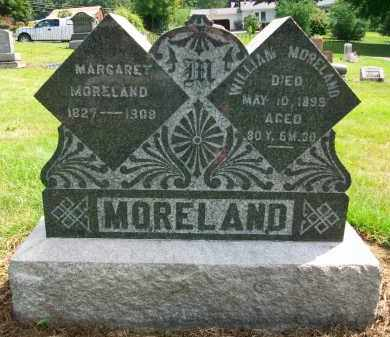 MORELAND, WILLIAM - Holmes County, Ohio | WILLIAM MORELAND - Ohio Gravestone Photos