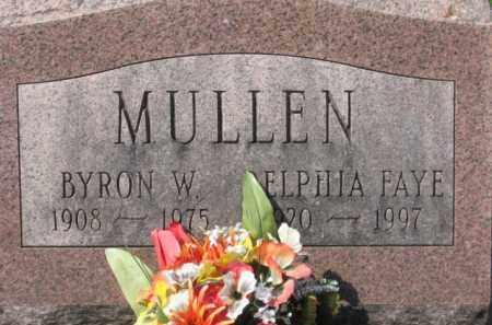 MULLEN, DELPHIA FAYE - Holmes County, Ohio | DELPHIA FAYE MULLEN - Ohio Gravestone Photos