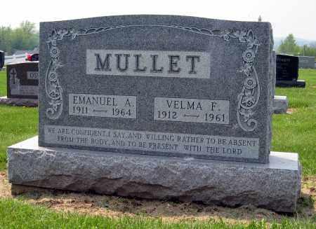 MULLET, EMANUEL A. - Holmes County, Ohio | EMANUEL A. MULLET - Ohio Gravestone Photos