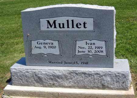 MULLET, GENEVA - Holmes County, Ohio | GENEVA MULLET - Ohio Gravestone Photos