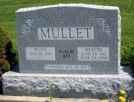 MULLET, RUTH - Holmes County, Ohio | RUTH MULLET - Ohio Gravestone Photos