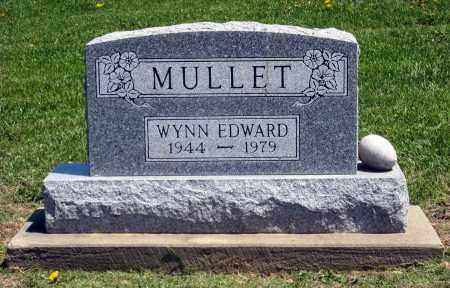 MULLET, WYNN EDWARD - Holmes County, Ohio | WYNN EDWARD MULLET - Ohio Gravestone Photos