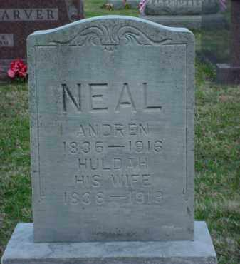 NEAL, ANDREW - Holmes County, Ohio | ANDREW NEAL - Ohio Gravestone Photos