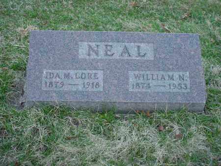 NEAL, WILLIAM N - Holmes County, Ohio | WILLIAM N NEAL - Ohio Gravestone Photos
