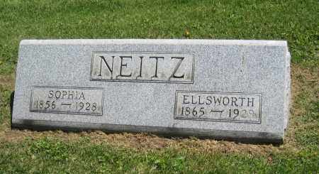 NEITZ, ELLSWORTH - Holmes County, Ohio | ELLSWORTH NEITZ - Ohio Gravestone Photos