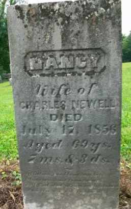 NEWELL, NANCY - Holmes County, Ohio | NANCY NEWELL - Ohio Gravestone Photos