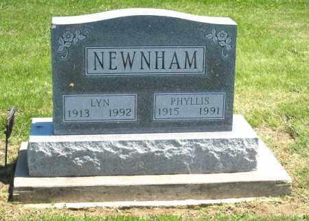 NEWNHAM, PHYLLIS - Holmes County, Ohio | PHYLLIS NEWNHAM - Ohio Gravestone Photos