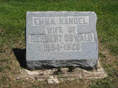 OSWALD, EMMA - Holmes County, Ohio | EMMA OSWALD - Ohio Gravestone Photos