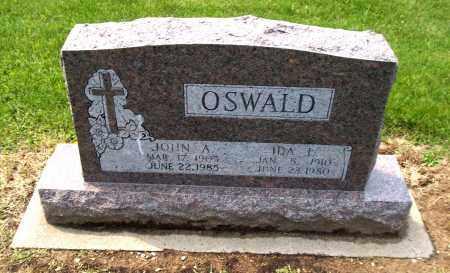 OSWALD, JOHN A - Holmes County, Ohio | JOHN A OSWALD - Ohio Gravestone Photos