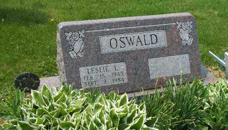 OSWALD, LESLIE L - Holmes County, Ohio | LESLIE L OSWALD - Ohio Gravestone Photos