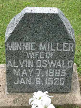 OSWALD, MINNIE - Holmes County, Ohio | MINNIE OSWALD - Ohio Gravestone Photos