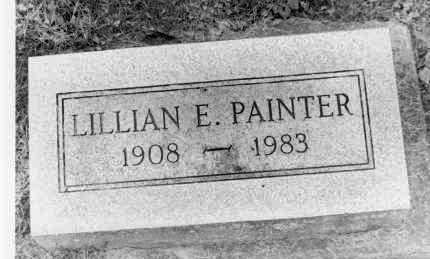 PAINTER, LILLIAN E. - Holmes County, Ohio | LILLIAN E. PAINTER - Ohio Gravestone Photos