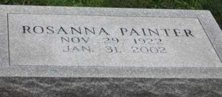 PAINTER, ROSANNA - Holmes County, Ohio | ROSANNA PAINTER - Ohio Gravestone Photos