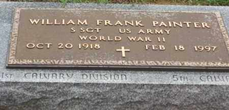 PAINTER, WILLIAM FRANK - Holmes County, Ohio | WILLIAM FRANK PAINTER - Ohio Gravestone Photos