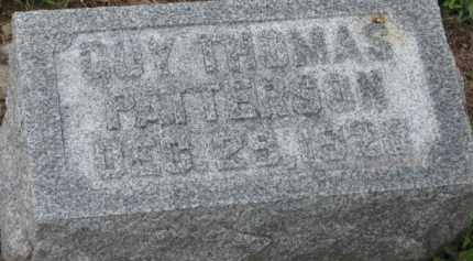 PATTERSON, GUY THOMAS - Holmes County, Ohio | GUY THOMAS PATTERSON - Ohio Gravestone Photos
