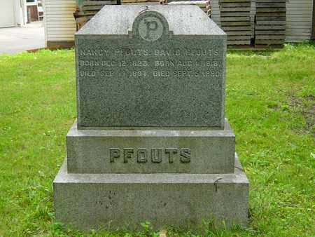 PFOUTS, NANCY - Holmes County, Ohio | NANCY PFOUTS - Ohio Gravestone Photos