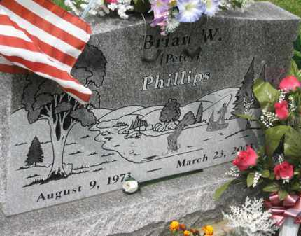 PHILLIPS, BRIAN W. - Holmes County, Ohio | BRIAN W. PHILLIPS - Ohio Gravestone Photos