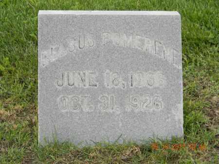 POMERENE, CELSUS - Holmes County, Ohio | CELSUS POMERENE - Ohio Gravestone Photos