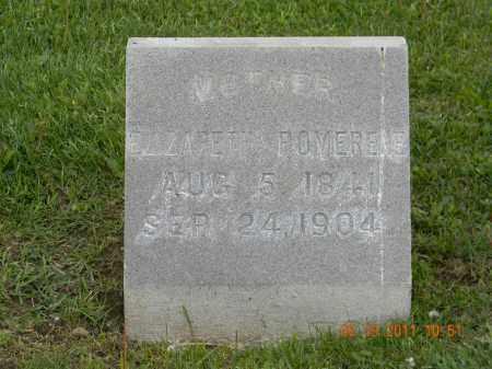 POMERENE, ELIZABETH - Holmes County, Ohio | ELIZABETH POMERENE - Ohio Gravestone Photos